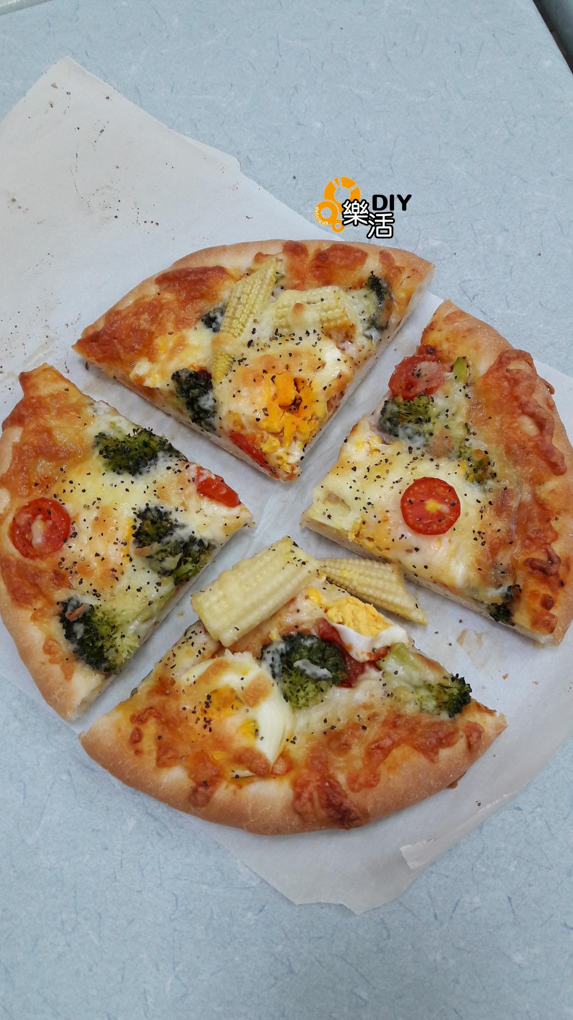 20160704暑期兒童烘焙班(個人班)DIY烘焙課程-時蔬野菜披薩  課程紀事