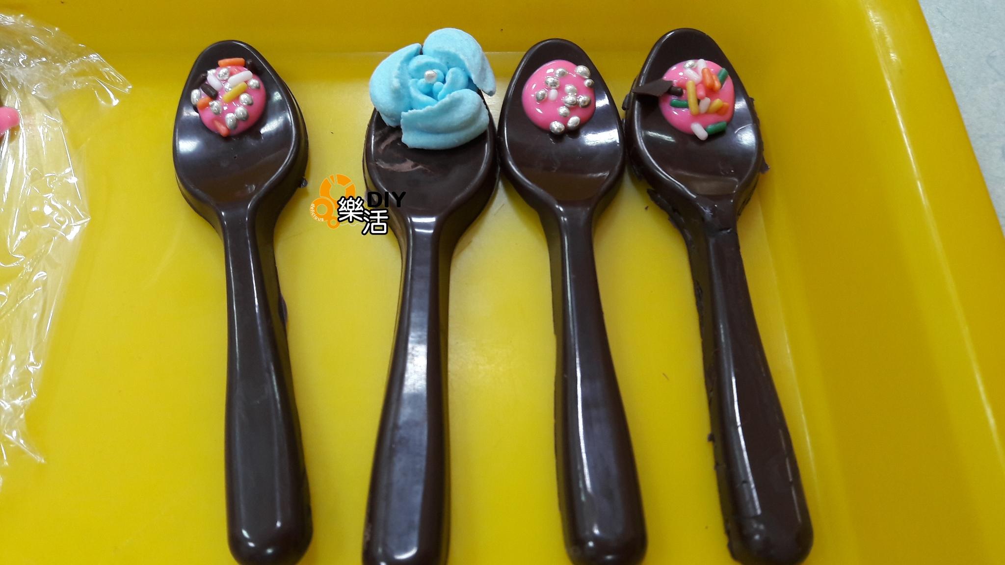 20160707暑期兒童班(團體班)DIY課程-巧克力攪拌棒  課程紀事