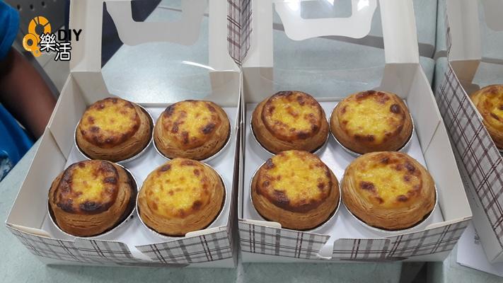 20160719 兒童烘焙A+B班(團體班)DIY烘焙課程-葡式蛋塔 課程紀事