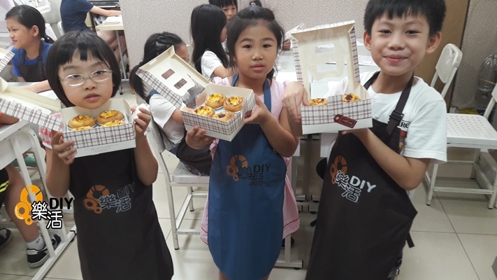 20160721兒童烘焙C+D班(團體班)DIY烘焙課程-葡式蛋塔 課程紀事