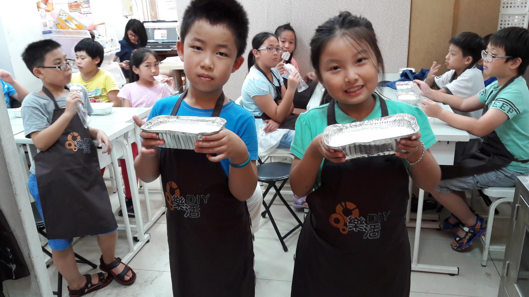 20160726兒童烘焙A+B班 (團體班)DIY課程- 牛奶雪花糕 課程紀事