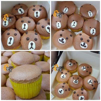 熊熊杯子蛋糕DIY烘焙課程 招生中…