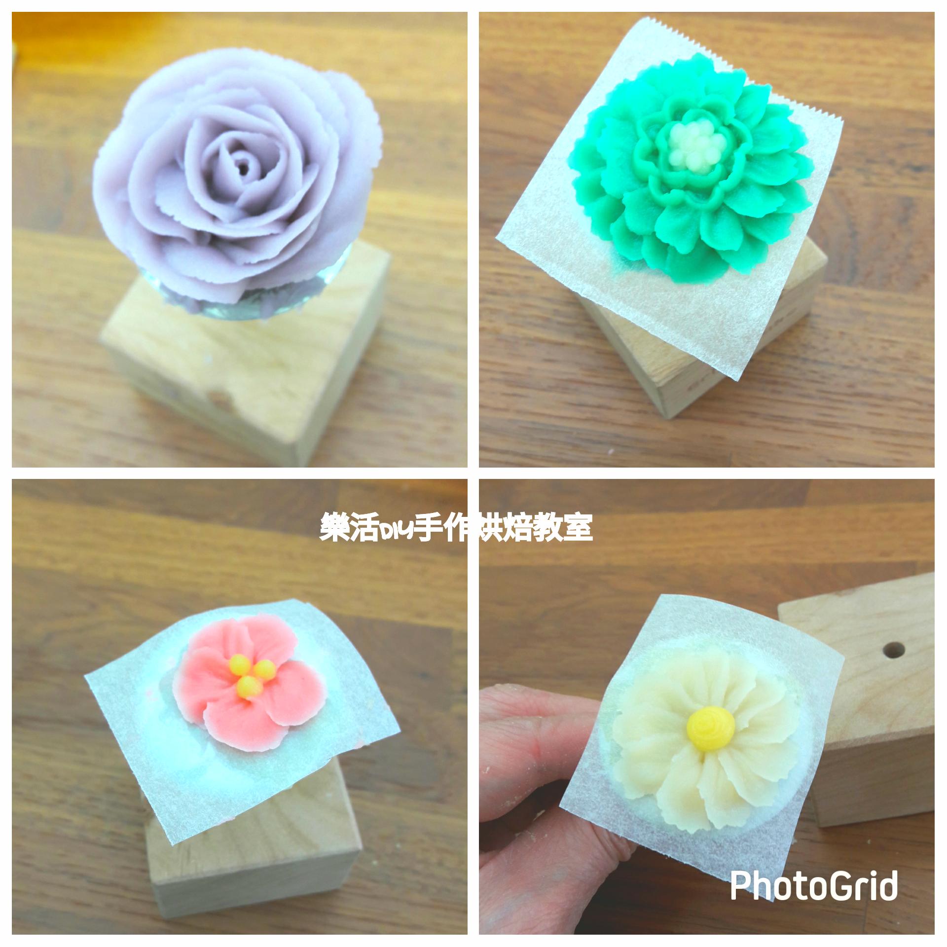 0527 韓式豆沙裱花課程 -課程紀事